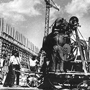 Construction  of  New Belgrade